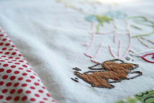 panel inset for fidget's quilt