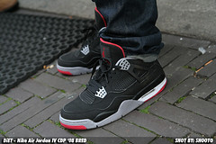 WDYWT DiET - Nike Air Jordan IV CDP '08 black/red (SHOOTO) Tags: aj 350d rebel nederland thenetherlands nike diet bred airjordan shooto ajiv nikeairjordan aj4 tamron1750 countdownpack lacebag lacebagnl nikejordancollezione194 332567991