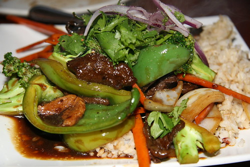 "Mongolian ""Beef"" by you."