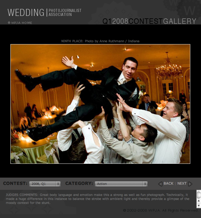 flying groom at Chicago wedding
