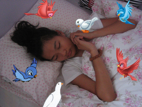 If you sleep like a Disney Princess...