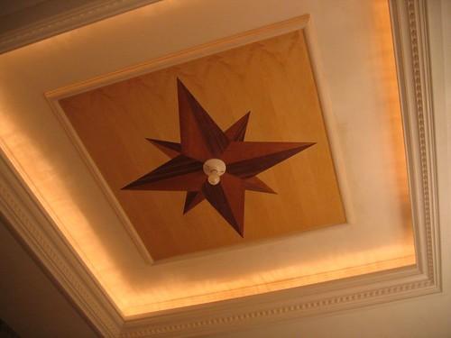 Ceiling panel sans chandelier