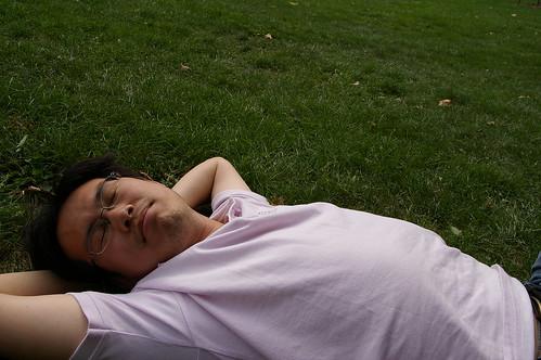 蘇鎮公園 11 - 睡覺被偷拍