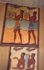 Frescoes from Knossos (radiowood) Tags: fresco frescoes crete knossos minoan