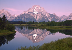 The Oxbow Bend (Jeff Clow) Tags: morning mountains reflection nature landscape bravo snakeriver mountmoran grandtetonnationalpark oxbowbend jacksonholewyoming theperfectphotographer goldstaraward jeffrclow vosplusbellesphotos
