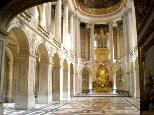 Versailles Chateau - Chapel floor