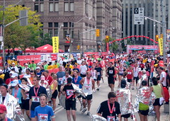 Scotiabank Toronto Waterfront Marathon finishers