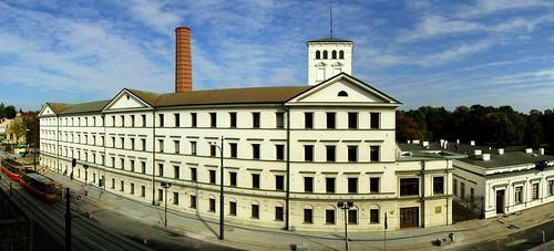 Łódź - Biała Fabryka / The White Factory