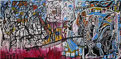 Part of Urbanology (SoulSoundDuo) Tags: painting denmark artist contemporary sydney rene australia canvas figurativeillustration sinkjr sinkjar soulsoundduo