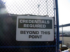 Credentials Required by TheTruthAbout... on Flickr (CC Licence)