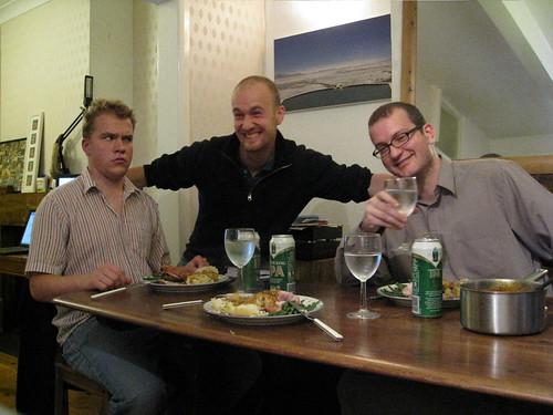 Bjorn, Felix and Kai