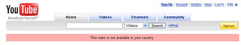 This video is not available in your country by you.