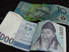 AUS Dollar and Won