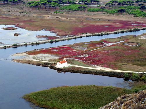 Prokopiou lagoon, West Achaia