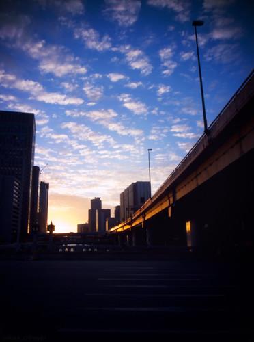 R0014397 : Nakanoshima Sunset