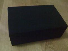The velvet box inside the box that was inside ...
