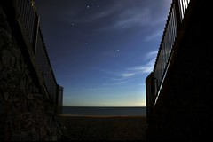 Greystones (shaymurphy) Tags: ireland sea sky irish beach night stars long exposure greystones wicklow nikkor18200vr nikond300