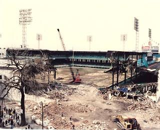 Demolition of Comiskey Park