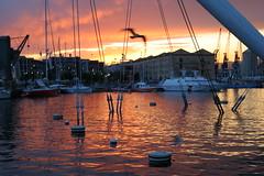 Genova_Porto Antico (squalo79) Tags: tramonto liguria genova porto portoantico abigfave theunforgettablepictures goldstaraward squalo79