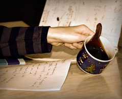 Exam session morning (Scartist) Tags: coffee study exam maths reggel kv pentaxk200d tkgroup idel ltty