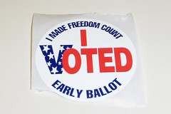 hooray for early voting