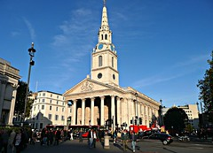 image of St. Martin in the fields church london