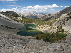 Barney Lake (plezknock) Tags: mountain forest hiking nevada sierra national backpacking mammothmtn barneylake inyo duckpass