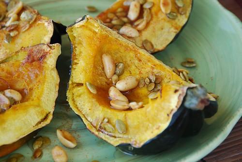 acorn squash with pepitas