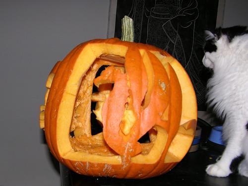 seahorse pumpkinworkhalloween
