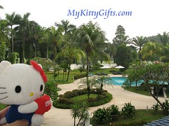 Hello Kitty at Landscaped Garden of Holiday Inn Glenmarie Hotel, Malaysia
