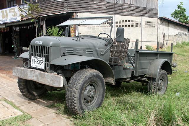 truck thailand army military dodge 1ton powerwagon phutoei wichianburi