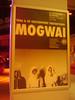 Poster of Mogwai in de Oosterpoort Groningen November 1 2008