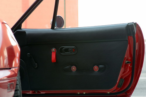 I did something similar before I reupholstered my door panels. & One Idea for Cheap Vintage Door Panels and Pulls - MX-5 Miata Forum