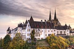 [フリー画像] [人工風景] [建造物/建築物] [城/宮殿] [スイス風景] [HDR画像]      [フリー素材]