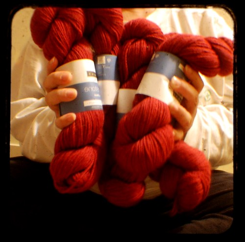 Day 324 (324/366): Hemlock Blanket Yarn