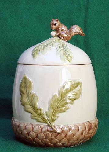 Vintage Squirrel Cookie Jar