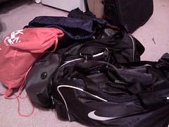 Running gear bags
