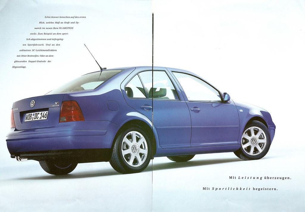 2017 Volkswagen Golf Gti Autobahn >> Fourtitude.com - The Archive: MkIV Bora V6 4Motion brochure