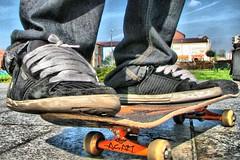 Ready...? (Majchalak) Tags: orange canon skateboarding boots skate hdr sk8 acab colorphotoaward youvsthebest majchalak thepinnaclehof
