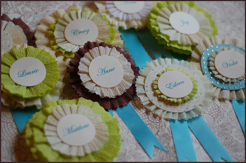 Crepe Paper Medallions