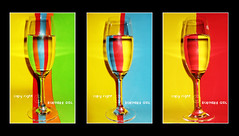..    .. ([usss ] ~) Tags: blue red orange color green cup water glass yellow
