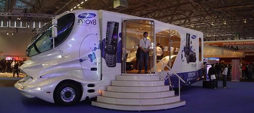 Samsung's Colani Truck Panorama