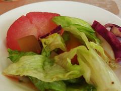 紅酒水梨、龍皮沙拉
