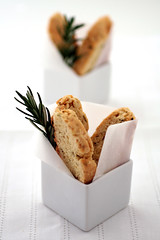 rosemary and parmesan biscotti (cannelle-vanille) Tags: cookies rosemary anita parmesan biscotti bookreview fieldguidetocookies