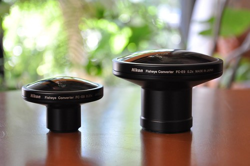 Fisheye FC-E8, FC-E9 by raneko, on Flickr