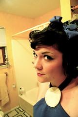 Bett in the bathroom (summer anne) Tags: summer selfportrait halloween me costume ofme bettyrubble summeranne