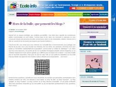 Article Ecolo Info