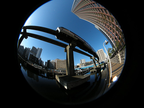 monorail+fisheye
