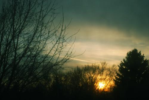 November sun...