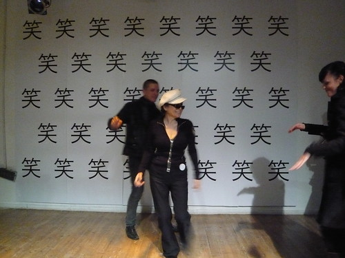 Yoko Ono in Shanghai: Nov 2008 by you.